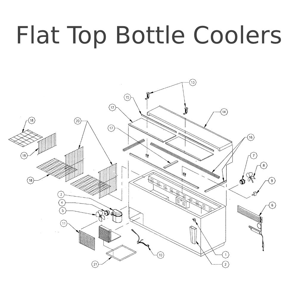 Prk_Flat_Top_Bottle_Coolers_Parts_2 true gdm 49f wiring diagram wiring diagram true gdm 72f wiring diagram at fashall.co